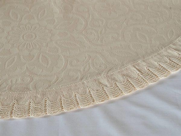 100% Cotton Jacquard Pre-Shrunk Bedspread